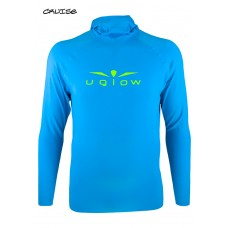 UGLOW HOODED SPORT H2 MAN | SKYBLUE