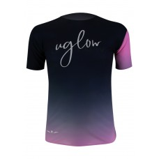 UGLOW Tricou Barbati SUPER SPEED AERO T-SHIRT GRADIENT PINK C1'20