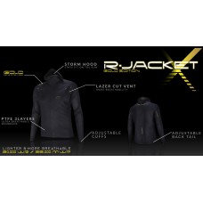 UGLOW-SL | RAIN JACKET X-WOMAN | BLACK GOLD