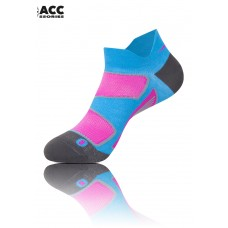UGLOW-ACESS | LOW SOCK COOLMAX 36-39 WOMAN | SKYBLUE PINK