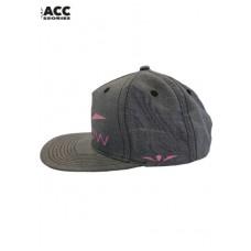 UGLOW | SNAP BACK CAP - GREY/PINK