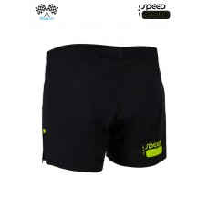 UGLOW-RACE | SHORT SPEED AERO 2in1 BLACK YELLOW