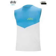 UGLOW-RACE | TOP TANK SPEED AERO | SKYBLUE WHITE 2018