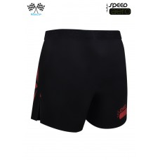UGLOW-RACE | SHORT SPEED AERO 2in1 BLACK RED