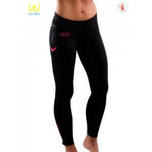UGLOW-ULTRA | 31MP18-T2 | FULL TIGHT WINTER-WOMEN | BLACK/PINK