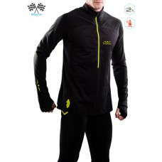 UGLOW-ULTRA | 3/4 ZIP MEMBRANE | 13MP18-34ZIPM2 | BLACK YELLOW