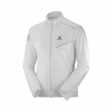 Geaca Alergare Barbati Salomon Sense Jacket M White