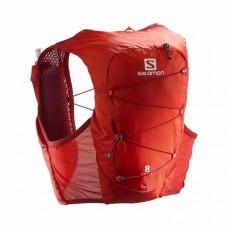 Rucsac Hidratare Alergare Unisex Salomon Active Skin 8 Set Valian/Rd Dahlia