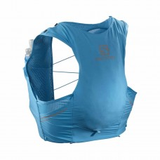 Rucsac Alergare Barbati Salomon SENSE PRO 5 SET Albastru cu sistem de hidratare