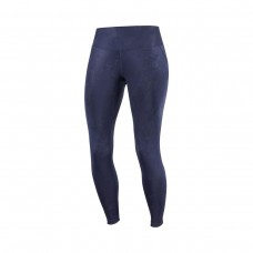 Colanti Alergare Femei Salomon AGILE LONG TIGHT W Bleumarin